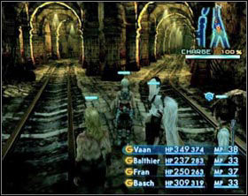 Here you can see two mimics - one is already draining the energy and the other is searching for a right spot - Barheim Passage - Part I - Final Fantasy XII - Game Guide and Walkthrough
