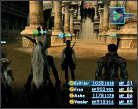 Another boss battle awaits you - now it's the legendary bird Garuda - Nam-Yensa Sandsea - Part I - Final Fantasy XII - Game Guide and Walkthrough