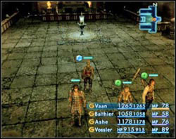 The first device you�ll come across is out of order for now - The Tomb of Raithwall - Part I - Final Fantasy XII - Game Guide and Walkthrough