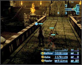 In the place from which the wall came out is a Hidden Jewel, but it isn't any use for you at this time - The Tomb of Raithwall - Part I - Final Fantasy XII - Game Guide and Walkthrough