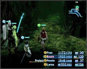 At the beginning you won't have access to the whole jungle - Golmore Jungle - Part II - Final Fantasy XII - Game Guide and Walkthrough