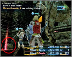 Miriam Guardian will attack you as soon as you appear there - Stilshrine of Miriam - Part II - Final Fantasy XII - Game Guide and Walkthrough