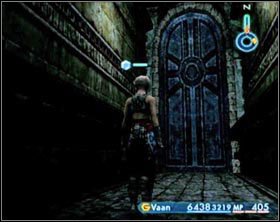 After the fight collect all treasures in this hall and leave through the door leading east - Sochen Cave Palace - Part II - Final Fantasy XII - Game Guide and Walkthrough