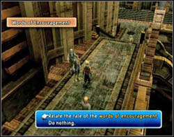You have to find a person who wishes to tell you something important and hear him [screen 1] - Archades - Part II - Final Fantasy XII - Game Guide and Walkthrough