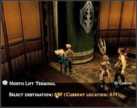 While wandering the building it's worth to visit all those small rooms (it's those small squares on the map) - you can find them treasures as well as enemies, but you can enter only these rooms from which light sift from under the door (on the left) - Draklor Laboratory - Part II - Final Fantasy XII - Game Guide and Walkthrough