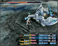 This boss also bet on the brute force - Second Ascent - Part III - Final Fantasy XII - Game Guide and Walkthrough
