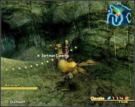 The passage to the next area is marked by glittering dots floating in air - Short manual - Misc - Final Fantasy XII - Game Guide and Walkthrough