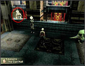 Ma'kenroh - he gives you info about the current hunt your on and about your clan level. - Clan Centurio - Head hunters - Final Fantasy XII - Game Guide and Walkthrough