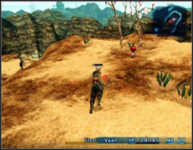 Rouge Tomato can be found on the rocky cliff just in front of the entrance to the city - Rouge Tomato (rank I) - Ordinary hunt notices - Final Fantasy XII - Game Guide and Walkthrough