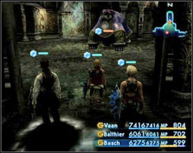 The easiest way to get there is through Old Archades or from the Sochen Cave Palace gate crystal - Dark Steel (rank IV) - Ordinary hunt notices - Final Fantasy XII - Game Guide and Walkthrough