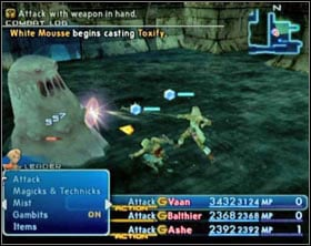 White Mousse - White Mousse (rank V) - Ordinary hunt notices - Final Fantasy XII - Game Guide and Walkthrough