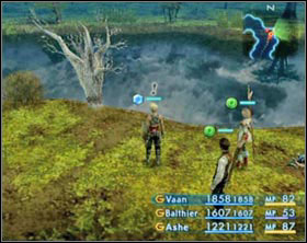 To get to the enemy, you'll have to strike six old, withered trees. - Gil Snapper (rank III) - Extraordinary hunt notices - Final Fantasy XII - Game Guide and Walkthrough