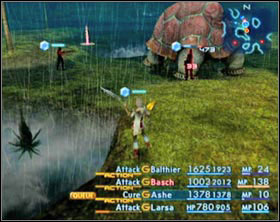 Gil Snapper appears only during a very heavy rain. - Gil Snapper (rank III) - Extraordinary hunt notices - Final Fantasy XII - Game Guide and Walkthrough