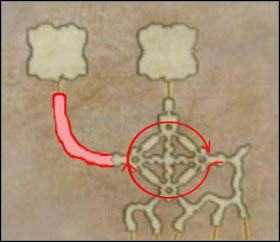 Go to Sochen Cave Palace with the key and in Destiny's March area make a circle like arrows show - Hell Wyrm - Bosses not connected with the plot - Final Fantasy XII - Game Guide and Walkthrough