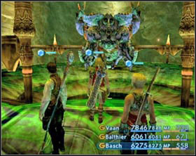 Sleeping Omega - Omega Mark XII - Bosses not connected with the plot - Final Fantasy XII - Game Guide and Walkthrough