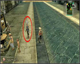 Quest begins with your conversation with this man (Lovestruck man) [screen 1] - Rabanastran in love - Side Quests - Final Fantasy XII - Game Guide and Walkthrough