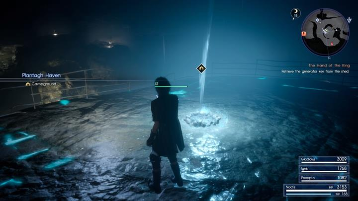 You should set up a camp in the dungeon. - Chapter 10 - The Heart of a King | Main storyline - Main storyline - Final Fantasy XV Game Guide