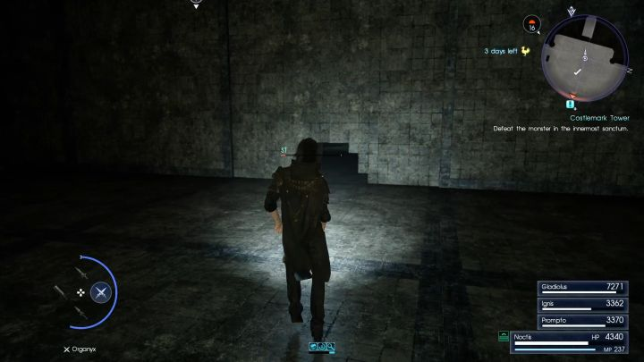 A Menace Sleeps In Costlemark Menace Beneath Lucis Dungeons Final Fantasy Xv Game Guide Gamepressure Com