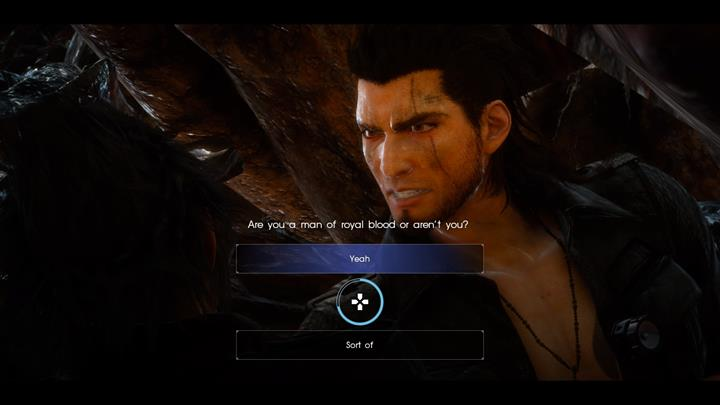 Agree with Gladio. - Chapter 4 - Living Legend | Main storyline - Main storyline - Final Fantasy XV Game Guide
