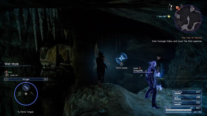 Once Prompto is taken, teleport to Hobgoblins. - Chapter 5 - Dark Clouds | Main storyline - Main storyline - Final Fantasy XV Game Guide