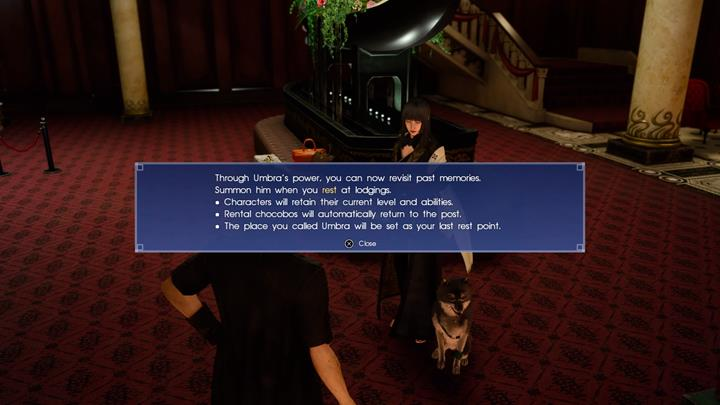 A conversation with Gentiana will unlock the option to return to Lucis. - Chapter 9 - Callings | Main storyline - Main storyline - Final Fantasy XV Game Guide