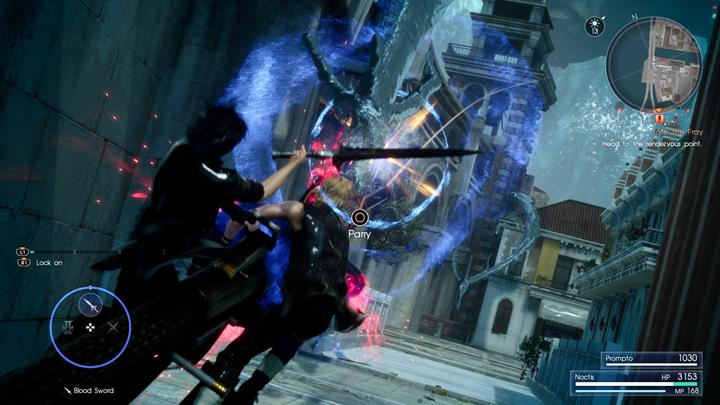 Block Leviathans attacks. - Chapter 9 - Callings | Main storyline - Main storyline - Final Fantasy XV Game Guide