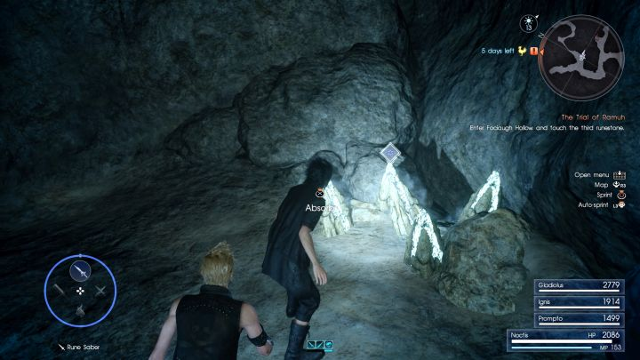 The main sources of raw elements are elemental deposits. - Acquiring resources and creating spells - Magic (Elemancy) - Final Fantasy XV Game Guide