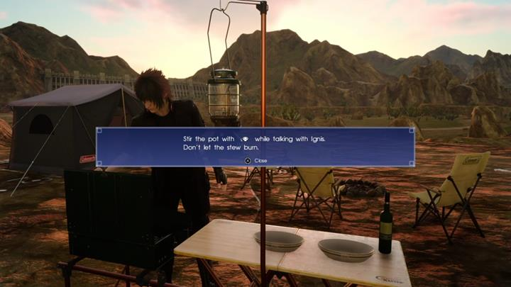 A quest in form of a simple mini-game - Tours | Side quests - Side quests - Final Fantasy XV Game Guide