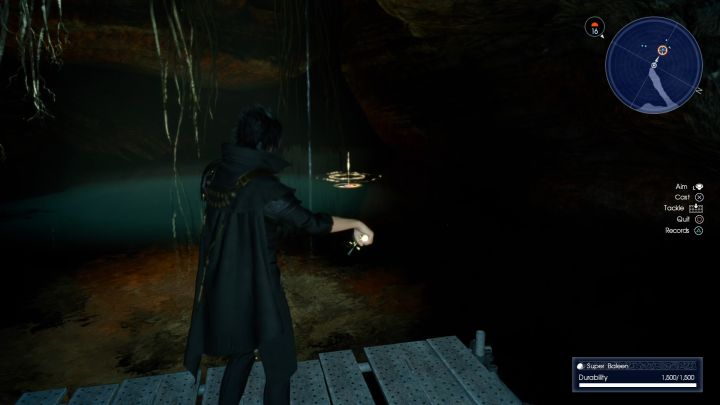 Time to relax and do some fishing... - Daurell Caverns | Optional dungeons - Optional dungeons - Final Fantasy XV Game Guide