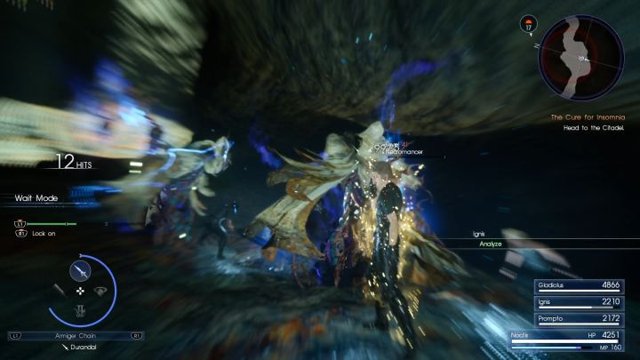 One Necromancer is a threat, let alone two... - Daurell Caverns | Optional dungeons - Optional dungeons - Final Fantasy XV Game Guide