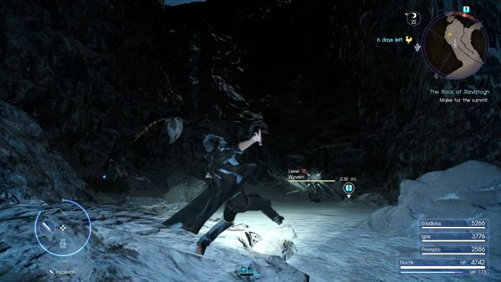 Wyverns are the strongest enemies you will be facing here. - Rock of Ravatogh | Optional dungeons - Optional dungeons - Final Fantasy XV Game Guide