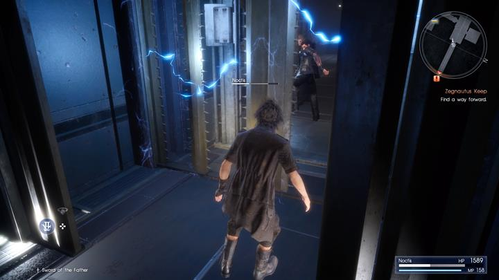 Run from the trap, towards your companions. - Chapter 13 - Redemption | Main storyline - Main storyline - Final Fantasy XV Game Guide