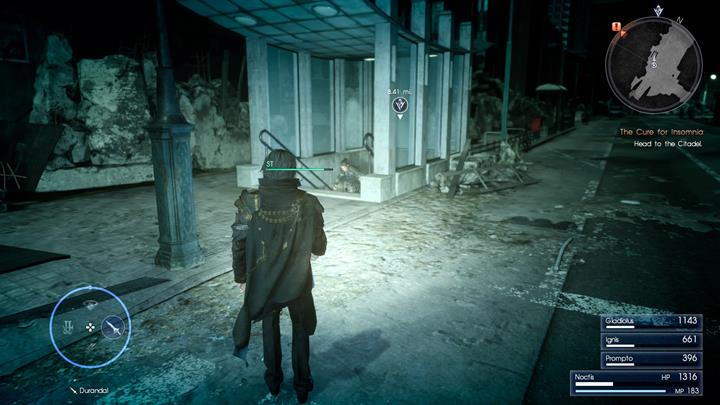 Use the tunnel to cross to the other side. - Chapter 14 - Homecoming | Main storyline - Main storyline - Final Fantasy XV Game Guide