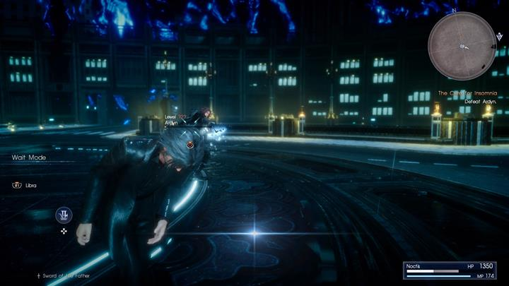 No time for dodges and blocks - the last phase of the encounter is a life and death struggle. - Chapter 14 - Homecoming | Main storyline - Main storyline - Final Fantasy XV Game Guide