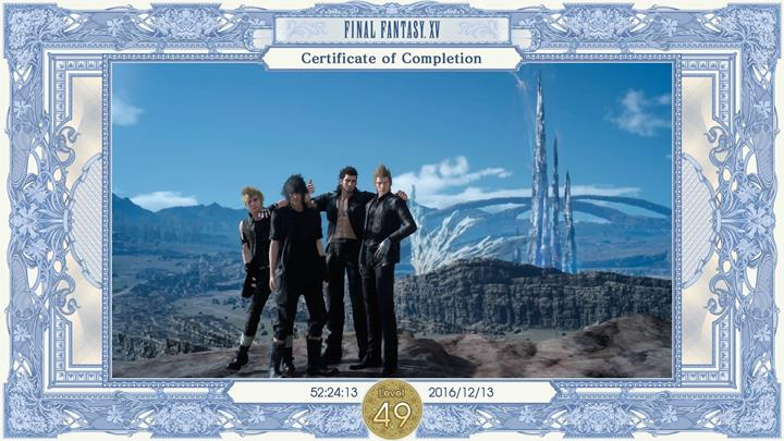 Even though youve finished the game, there are still numerous activities awaiting you! - Chapter 14 - Homecoming | Main storyline - Main storyline - Final Fantasy XV Game Guide