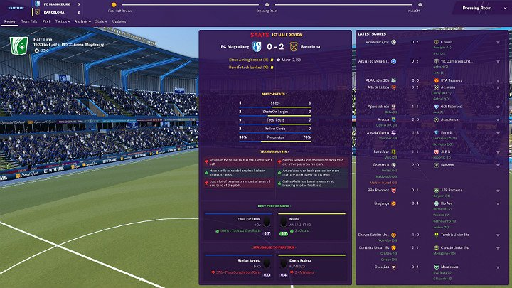You need to keep track of the players actions both in preparation for the game and during the game - General Tips for Football Manager 2019 - Good start - Football Manager 2019 Guide and Tips