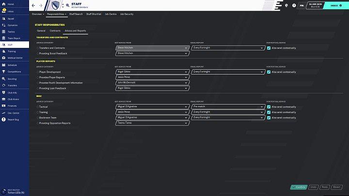 1 - Помощники | Football Manager 2020 - Как управлять клубом - Руководство Football Manager 2020