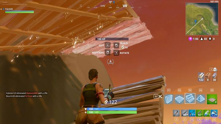 Just like with the previous constructions, here, the key is to do it over and over again until you are satisfied with the results - Building for advanced players | How to win? - How to play and win? - Fortnite: Battle Royale Game Guide