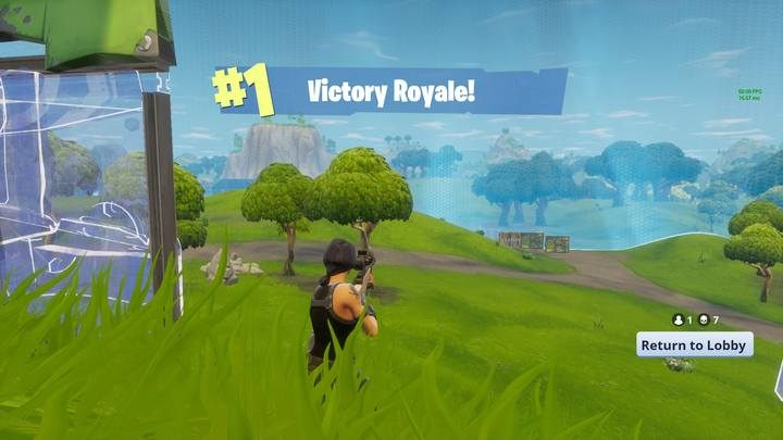 Seven kill guaranteed victory. - Late stage and match summary in Fortnite: Battle Royale - The match - Fortnite: Battle Royale Game Guide