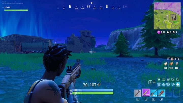 your chances to reach a target will be the highest two seconds after you crouch - what is a hitmarker in fortnite