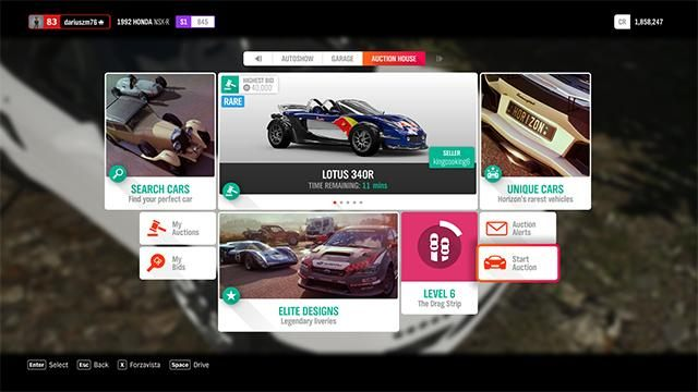 Buying and selling cars in Forza Horizon 4 - Forza Horizon 4