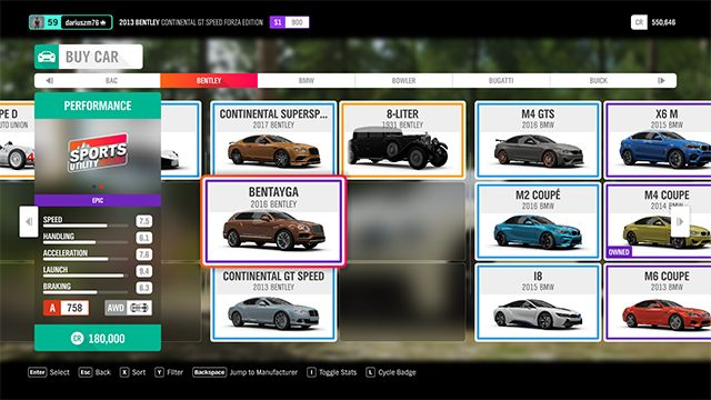 Which car to choose? - Forza Horizon 4 Game Guide | gamepressure com