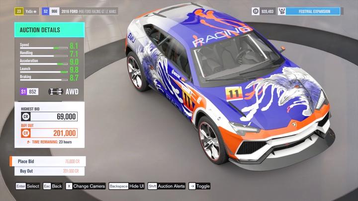 Forza Horizon  Car Buying Guide