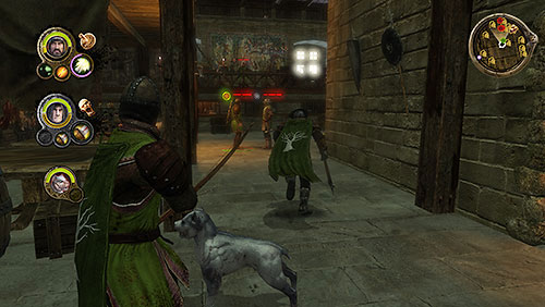 On the ground floor another group of enemies attack you - Crossroads [MQ] - p. 2 - Chapter 10 - Alester Sarwyck - Game of Thrones - Game Guide and Walkthrough