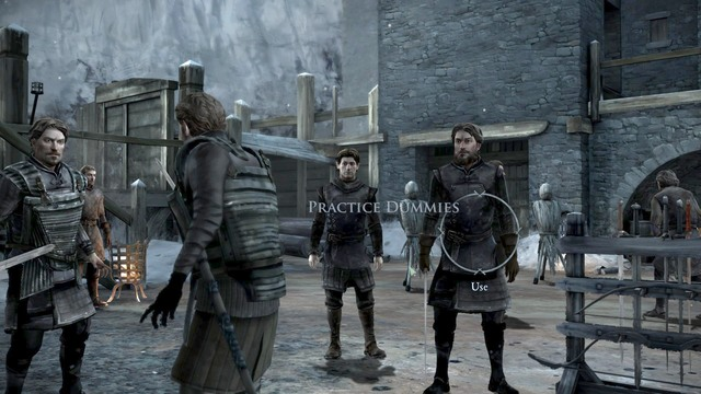 After the conversation you must show Frostfinger your combat skills - Chapter 4 | Episode 2: The Lost Lords - Episode 2: The Lost Lords - Game of Thrones: A Telltale Games Series Game Guide