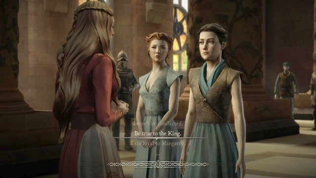 Important decision #2 - Important choices | Episode 1: Iron from Ice - Episode 1: Iron from Ice - Game of Thrones: A Telltale Games Series Game Guide