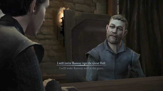 Important decision #5 - Important choices | Episode 1: Iron from Ice - Episode 1: Iron from Ice - Game of Thrones: A Telltale Games Series Game Guide