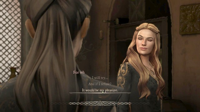I will try - Chapter 5 | Episode 5: A Nest of Vipers - Episode 5: A Nest of Vipers - Game of Thrones: A Telltale Games Series Game Guide