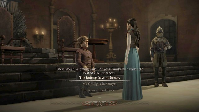 1 - Chapter 4 | Episode 1: Iron from Ice - Episode 1: Iron from Ice - Game of Thrones: A Telltale Games Series Game Guide