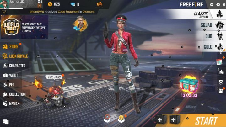 How To Start The Game In Garena Free Fire Garena Free Fire Guide Gamepressure Com